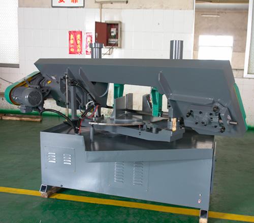 ghz-280双立柱转角卧式金属带锯床图片